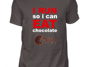 run eat chocolate