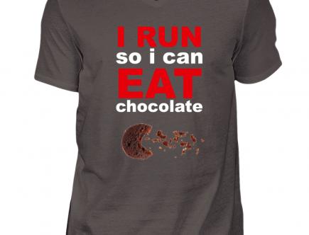 run eat chocolate