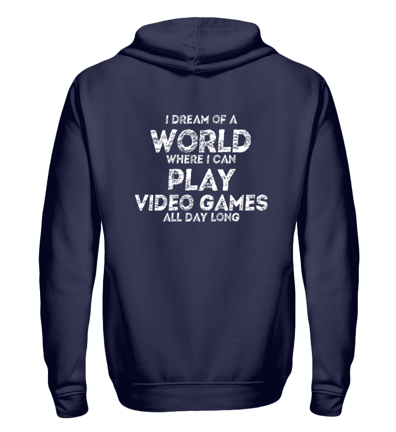 Dunkelblau hoodie