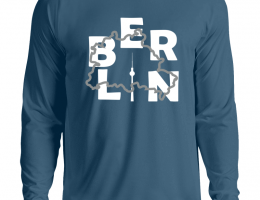 Sweatshirt Berlin Azurblau