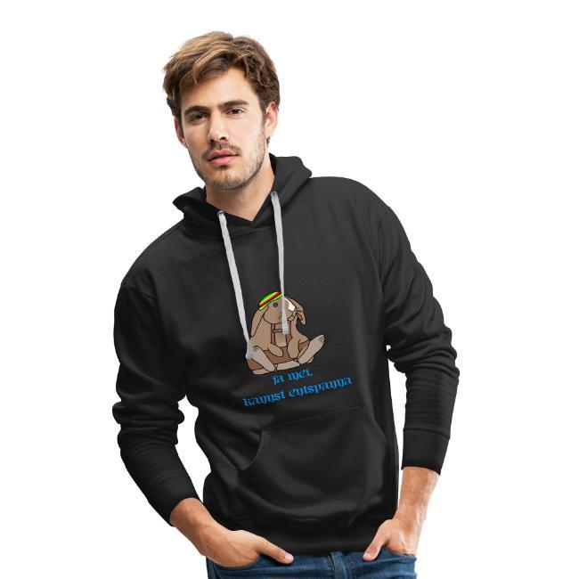 hoodie mann rabbit rasta bayern