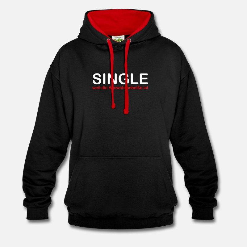 single-weil-die-auswahl-scheisse-ist-kontrast-hoodie